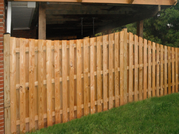 Pressure Treated Pine Builders Fence Co