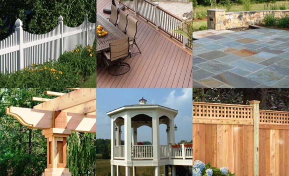 Vinyl Fences, Decks, Patios, Pergolas, Gazebos, Cedar Fence