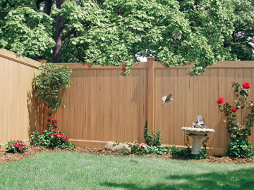 vinyl fence colors. ActiveYards Vinyl Fence Colors