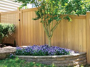 Dogwood ActiveYards Vinyl Fence