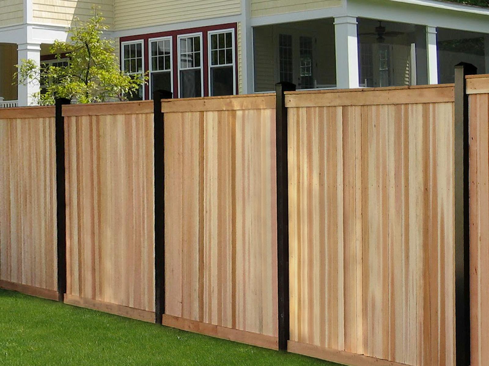 Custom Wood Fence In Mclean Va Builders Fence Company