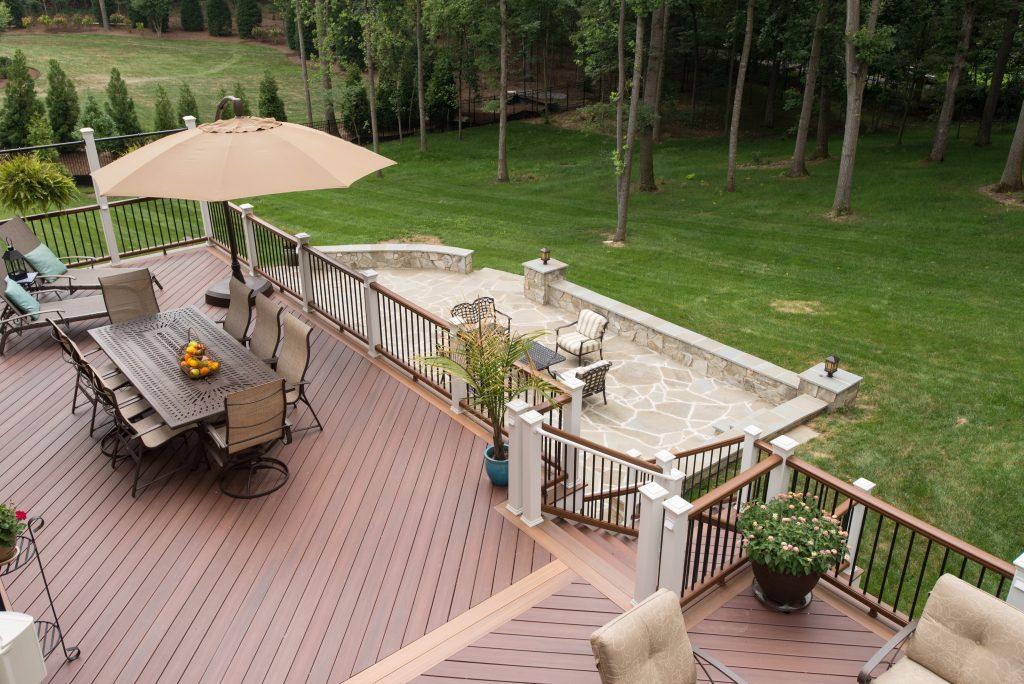 Fences Sterling Va Commercial Fence Deck Installation