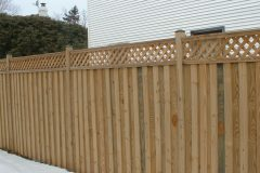 Board and Batten with Lattice