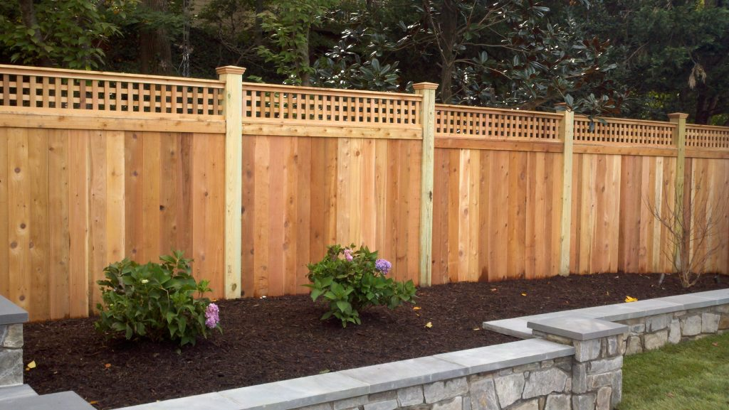 Picture of: Custom Wood Fence Installation Fence Style Builders Fence Company