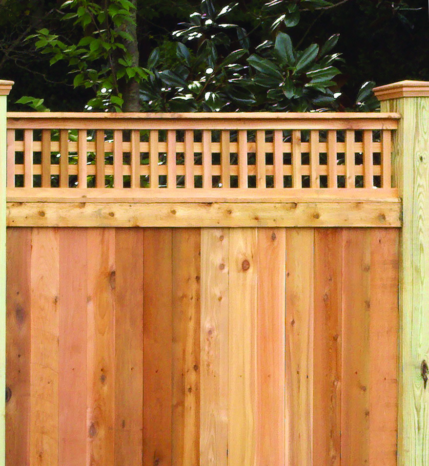 Custom Wood Fence Installation Fence Style Builders