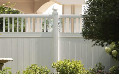 Persimmon Vinyl Fence