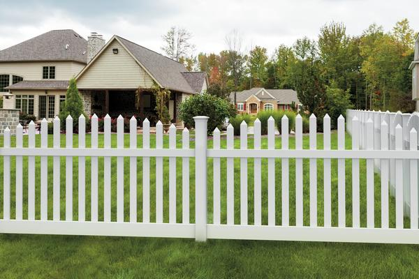 Vinyl Fence Installation Activeyards Fence Builders